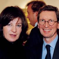 Lady Saatchi and David Montgomery