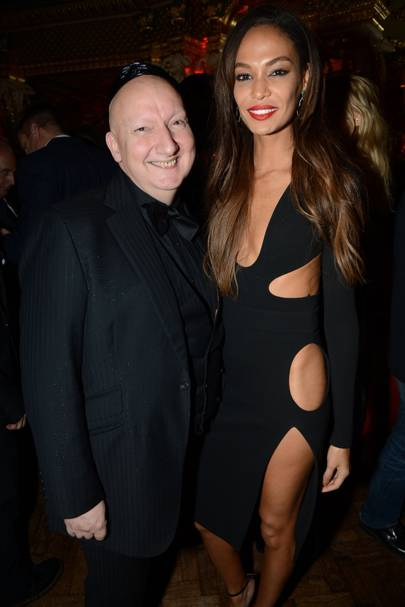 Stephen Jones and Joan Smalls
