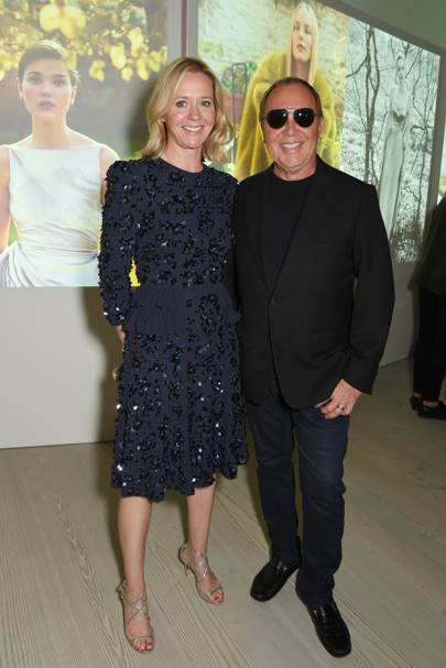 Kate Reardon and Michael Kors