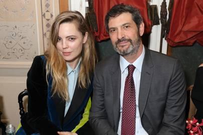 Melissa George and Richard Bienen