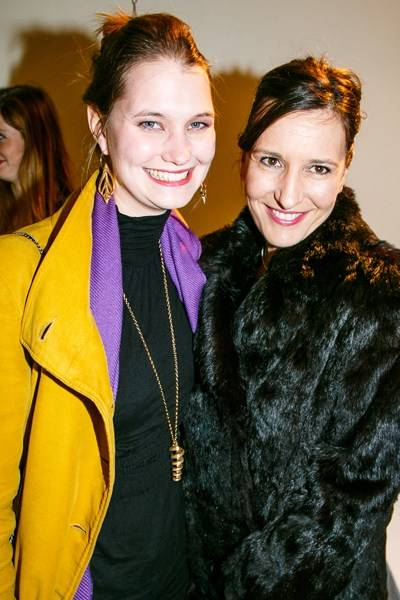 Ilona Hilton-Johnson and Camilla Barker
