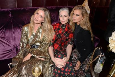 Annabelle Wallis, Erin O'Connor and Laura Bailey