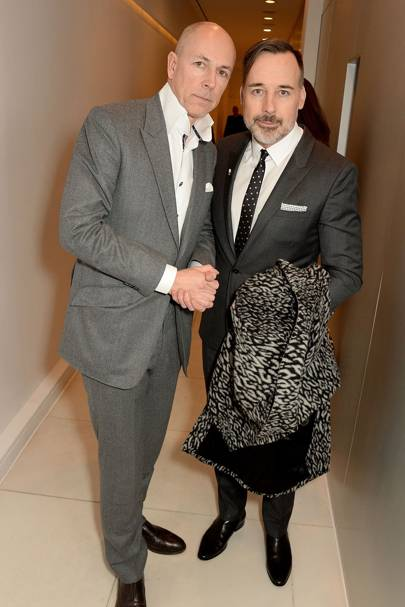 Dylan Jones and David Furnish