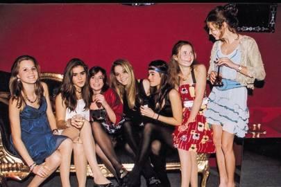 Harriet Evans, Beatriz Callaghan, Holly Cruz, Georgina Isola, Olivia Callaghan, Lali Cardozo and Madeleine Bunbury