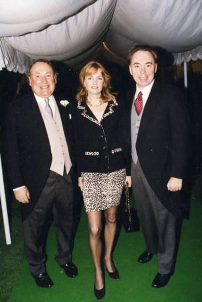 Anthony Oppenheimer, Lady Lloyd Webber and Sir Andrew Lloyd Webber