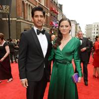 Raza Jaffrey and Lara Pulver