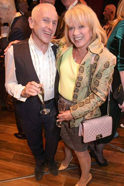 Wayne Sleep and Elaine Paige