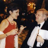 Harriet Walter and Michael Grade
