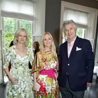 Patricia Stevenson, Emma Samuel and Arnaud Bamberger