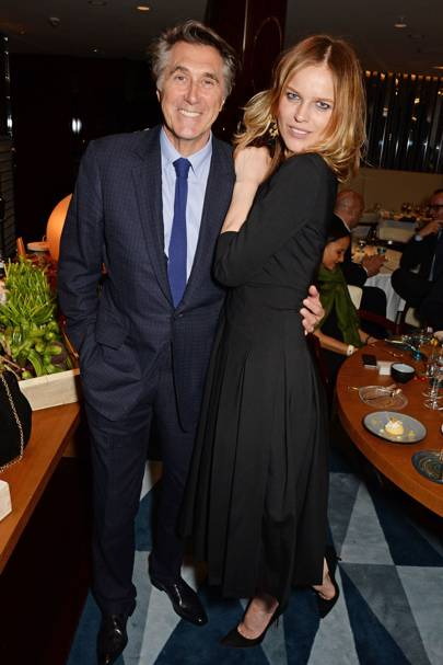 Bryan Ferry and Eva Herzigova