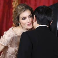 Princess Letizia and Crown Prince Naruhito