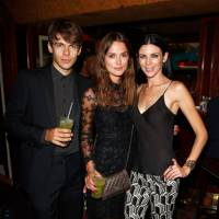 James Righton, Keira Knightley and Liberty Ross