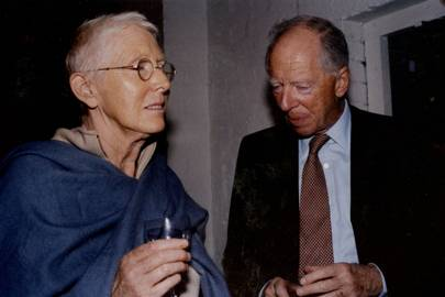Rose Gray and Lord Rothschild