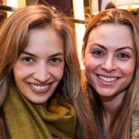 Hana Helmy and Roxana Sursock