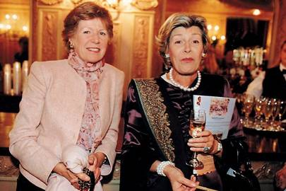 Mrs Andrew Parker Bowles and Carolyn Benson