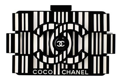Plexiglass clutch, £6,400, by Chanel