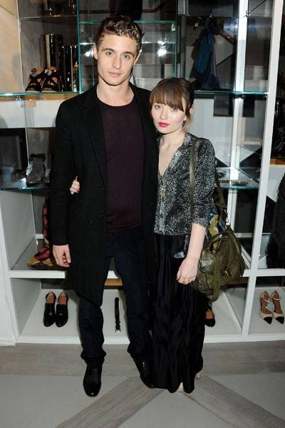Max Irons and Emily Browing