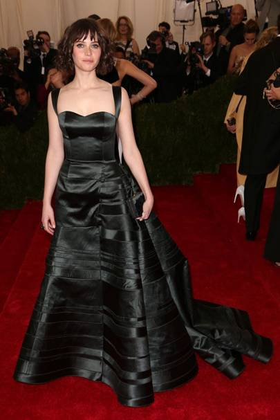 At the Met Ball in New York, 2014