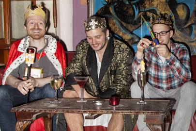 David Gillespie, Will Muirhead and Ollie Spero