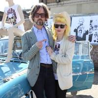 Jarvis Cocker and Pam Hogg