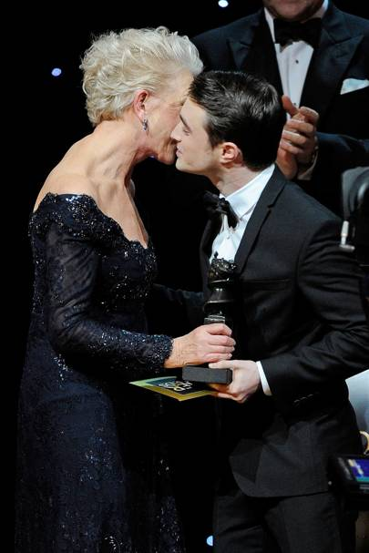 Helen Mirren and Daniel Radcliffe