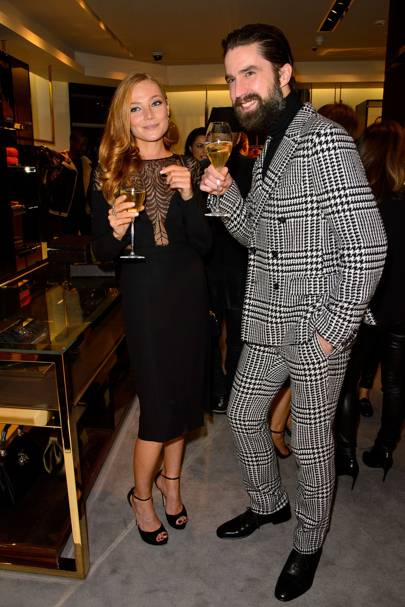 Clara Paget and Jack Guinness
