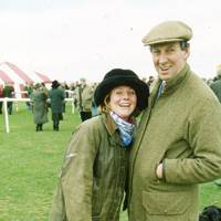 Mrs Rupert Higgin and Anthony Perry