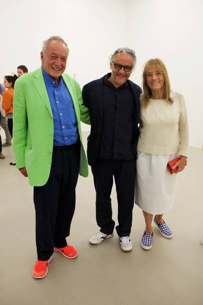 Richard Rogers, Gabriel Orozco and Ruth Rogers