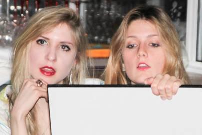 Bella Franks and Lavina Bailey