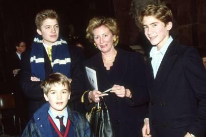Max Benitz, Andrew Benitz, Mrs Bryan Benitz and Alexander Benitz