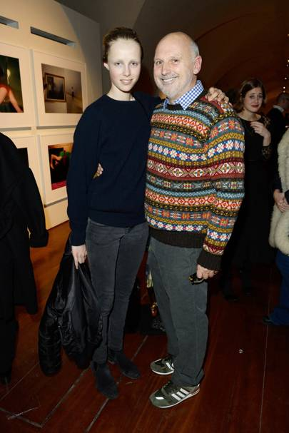 Edie Campbell and Sam McKnight