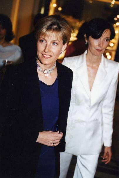 The Countess of Wessex and Catherine Walker