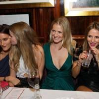 Violet von Westenholz, Katie Readman, Chloe Delevingne and Amanda Crossley