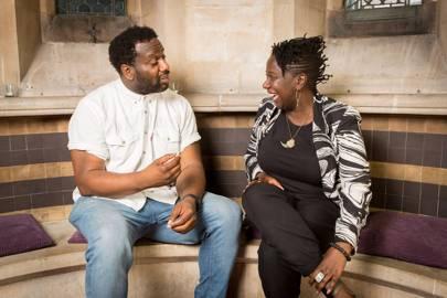 Tony Nwachukwu and Barby Asante