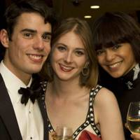 George Shapter, Olivia Quirke and Lizzy Burden