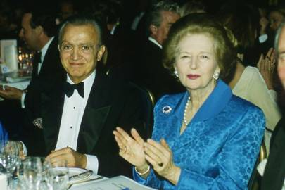 Wafic Said and Baroness Thatcher