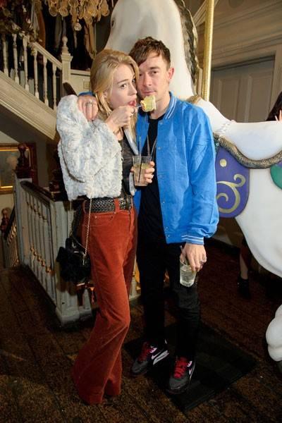 Mary Charteris and Robbie Furze