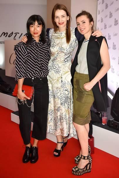Mimi Xu, Roksanda Ilincic and Lara Bohinc