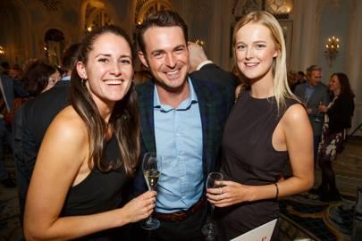 Lauren Auty, Jules Knight and Francesca Peake