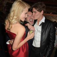 Pixie Lott, Dan Caten and Oliver Cheshire