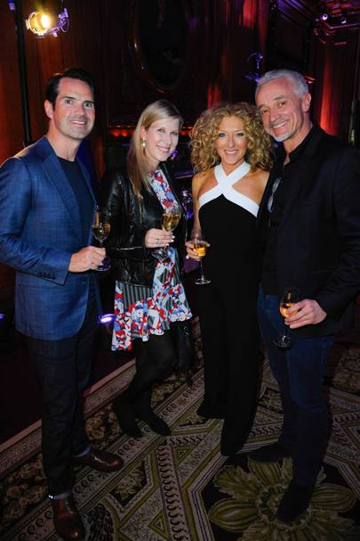 Jimmy Carr, Karoline Copping, Kelly Hoppen and John Gardiner