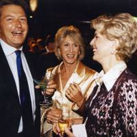 Julian Metcalfe, Countess Camerana and Mrs David Metcalfe