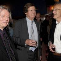 Christopher Hampton, Sir David Hare and Michael Frayn