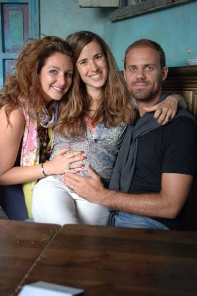 Natasha Corrett, Laura Fraser and Ben Hewitt