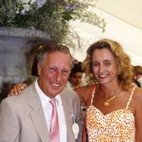 Frederick Forsyth and Sandy Molloy