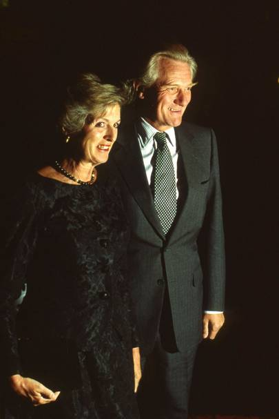 Mrs Michael Heseltine and Michael Heseltine