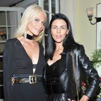 Poppy Delevingne and Liberty Ross