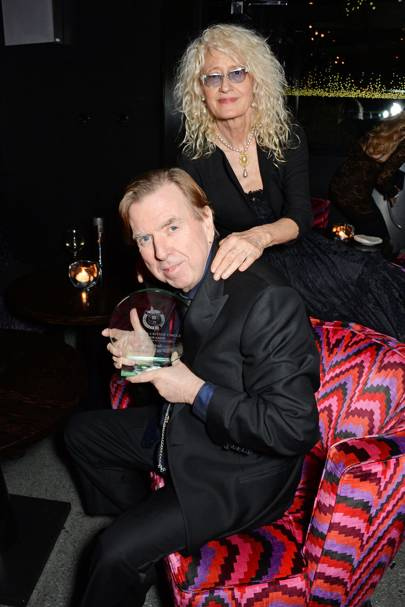Timothy Spall and Pippa Markham