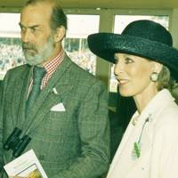 Prince Michael of Kent and Mrs Wafic Said