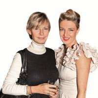 Pandora Delevingne and Melinda Stevens